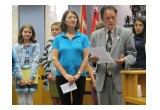 Niagara Falls City Councillor Kim Craitor acknowledged the winners of the contest.