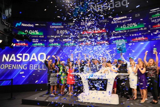 Foundation for a Drug-Free World Rings NASDAQ Opening Bell