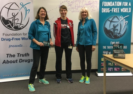 Niagara High Schoolers Learn the Truth About Drugs